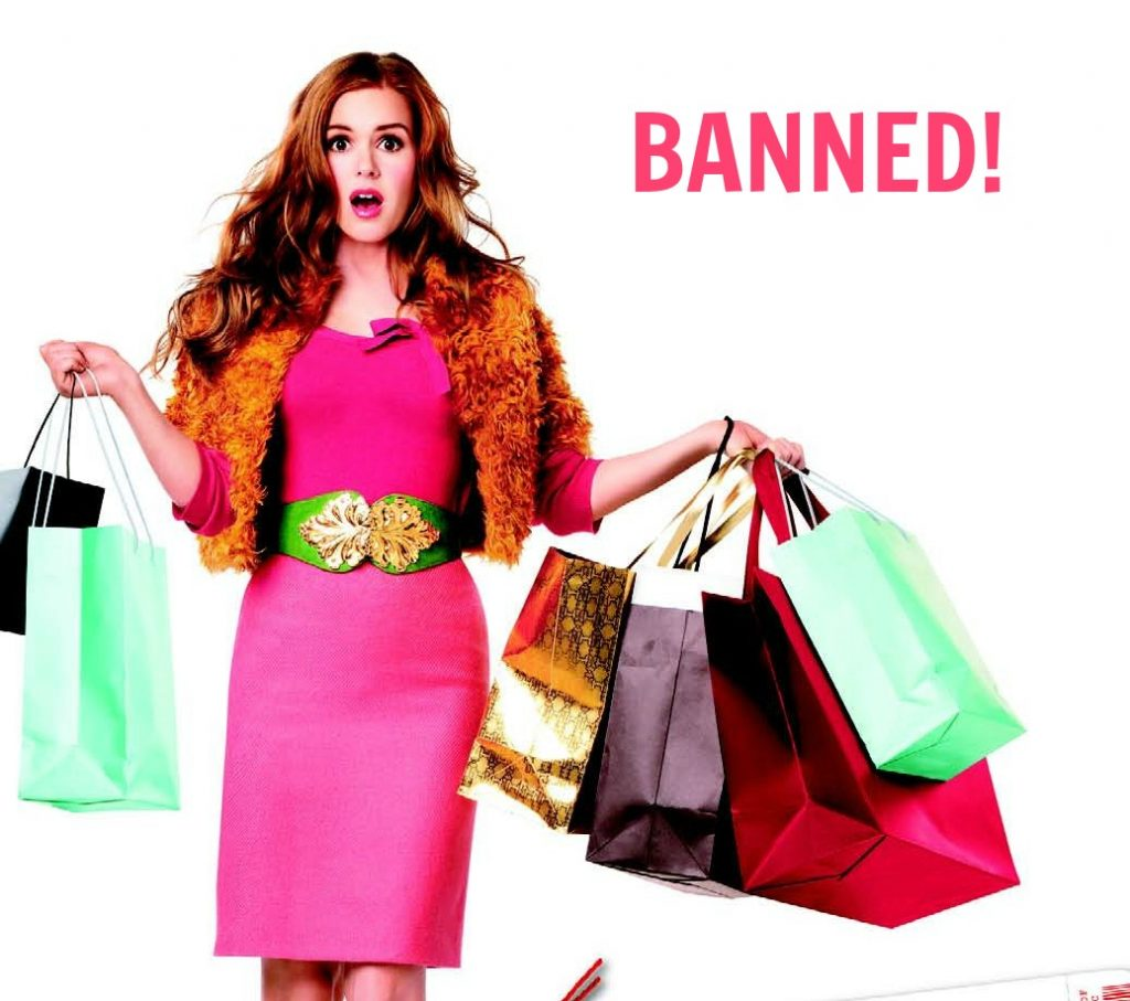 I'm Banned from Shopping for 30 Days!