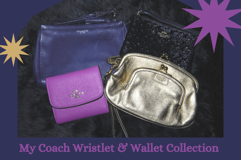 My Coach Wallet and Wristlet Collection